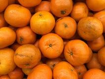 Apelsiner i supermarket Royaltyfri Fotografi