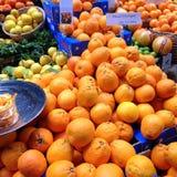 Apelsiner och citroner Fotografering för Bildbyråer