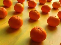 Apelsiner och mandarin Royaltyfri Bild