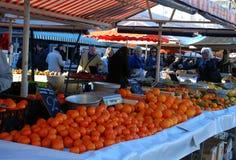Apelsiner och tangerin i fruktmarknaden Royaltyfri Foto