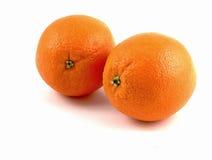 apelsiner två Royaltyfri Foto
