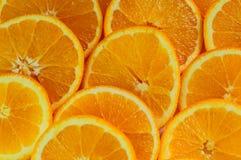 Apelsiners stora skivor Royaltyfri Bild
