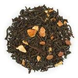 Apelsinkanel för svart te Royaltyfri Bild