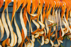 Apelsinskal Arkivfoto