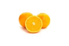 Apelsinsnitt Arkivfoton