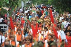 Apem Sewu Ceremony Stock Photo