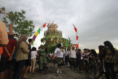 Apem Sewu Ceremony Stock Photos
