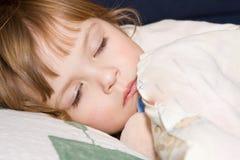 Apenas alrededor dormir Imagenes de archivo