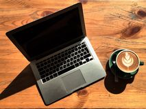 Apenas café imagens de stock royalty free
