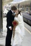 Apenas casado Foto de archivo