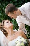 Apenas casado. #2 Imagenes de archivo