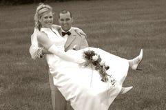 Apenas casado Foto de archivo libre de regalías