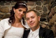 Apenas casado imagens de stock