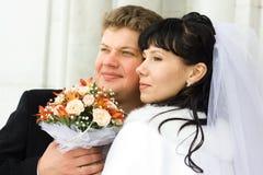 Apenas casado Fotos de Stock
