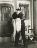 Apenas casado Fotos de archivo libres de regalías