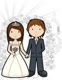Apenas casado Fotos de archivo