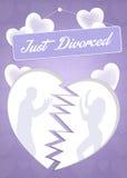 Apenas divorciado Imagen de archivo