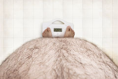 Apenas gordura lisa Fotos de Stock