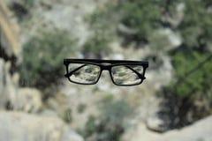 Apenas meus vidros Foto de Stock