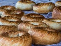 Apenas pan blanco hecho fresco Imagen de archivo