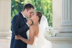 Apenas pares casados Imagen de archivo