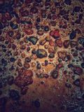Apenas piedra en la tierra Fotografía de archivo