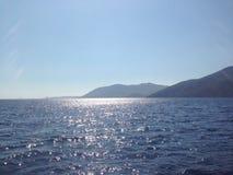 Apenas sol e água Foto de Stock Royalty Free