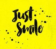 Apenas sorriso Fotografia de Stock
