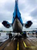 ¿Apenas un avión? Imagen de archivo