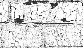 Apene la vieja textura agrietada del muro de cemento ilustración del vector