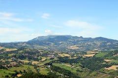 Apennine mountains San Marino Italy Royalty Free Stock Photography