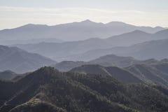 Apennines βουνά Στοκ Φωτογραφία