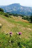 Apennines κοιλάδα στην Αιμιλία-Ρωμανία Στοκ φωτογραφίες με δικαίωμα ελεύθερης χρήσης