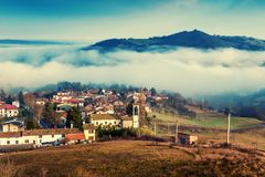 Apennines-Berge, Italien lizenzfreies stockbild