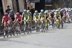 Apennines-einen.Kreislauf.durchmachenrennen 2010 lizenzfreies stockfoto
