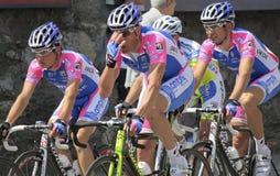 Apennines-einen.Kreislauf.durchmachenrennen 2010 stockfoto