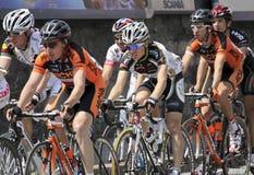 Apennines-einen.Kreislauf.durchmachenrennen 2010 lizenzfreie stockbilder