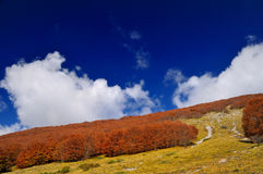 Apennines in Italy Stock Photo