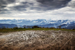 The Apennines, Italy. Stock Photography