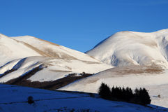 Apennines in winter Royalty Free Stock Image