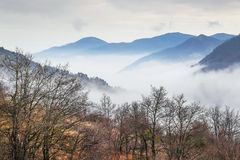 The Apennines in winter, Italy. Royalty Free Stock Image