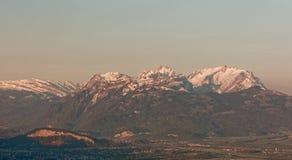 Apenzell Alps wschód słońca obraz royalty free