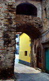 Aperçu chez Brugnato, La Spezia, Italie Photo libre de droits