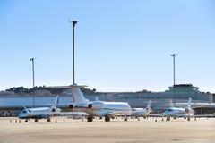 Aperçu d'aéroport Photographie stock libre de droits
