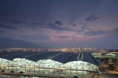 Aperçu d'aéroport, aéroport de Hong Kong Image libre de droits