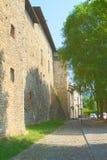 Aperçu de Bergame, haute ville Image stock