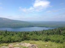 Aperçu de lac Photographie stock