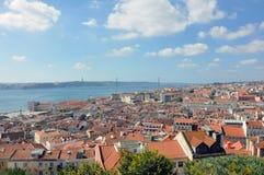 Aperçu de Lisbonne Photos stock