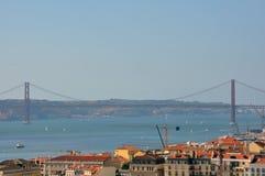 Aperçu de Lisbonne Photographie stock libre de droits