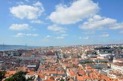 Aperçu de Lisbonne Photographie stock